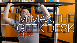 geekdesk max electric adjustable height desk unboxing and review