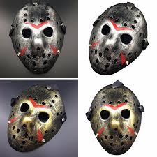 vintage new make old cosplay halloween mask jason voorhees freddy