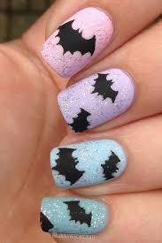 38 best halloween bat nail art images on pinterest halloween