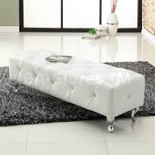 Padded Storage Bench Bedrooms Splendid Foot Of Bed Storage Bench End Of Bed Sofa