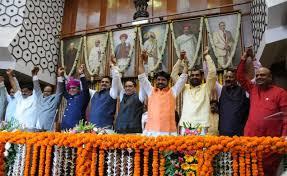 Maharashtra Cabinet Ministers Maharashtra Cabinet Fadnavis Allocates Mos Home For Shiv Sena