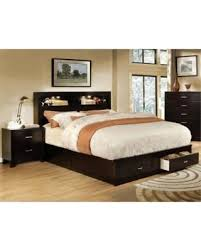 Bookcase Bedroom Sets Big Deal On Furniture Of America Louis 2 Piece Queen Bookcase