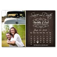 rustic save the date magnets rustic calendar save the date magnet funflip the print cafe