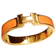 hermes bracelet images Herm s bracelets bracelets ceramic orange ref 10318 joli closet jpg