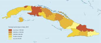 Cuban Map Tourism In Cuba Wikiwand