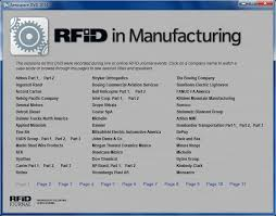 rfid in manufacturing case study presentations rfid journal