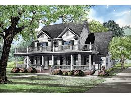 covered porch house plans howdershell luxury home plan 055s 0001 house plans and more
