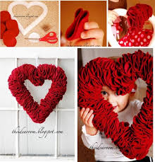 valentines day wreaths 15 diy s day wreaths you can try to do