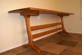 Doucette And Wolfe Furniture by Trestle Table Cherry Tiger Maple Walnut Mahogany Dining Table