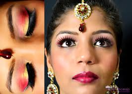 How Much For Bridal Makeup Superprincessjo Indian Bridal Wedding Makeup Red Gold Eye Makeup