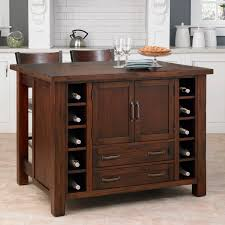 kitchen islands with wine rack kitchen small wooden kitchen island cart with breakfast bar and