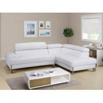 canap d angle en cuir blanc canape angle cuir blanc achat canape angle cuir blanc pas cher