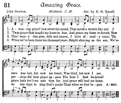 Old Rugged Cross Music Amazing Grace How Sweet The Sound That Saved A Wretch Like Me I