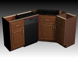 corner kitchen sink cabinet dimensions kitchen decoration