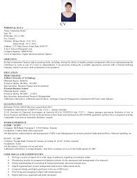 resume masters degree resume