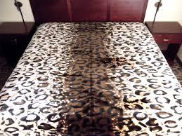 Cheetah Print Blanket New 11 Pounds Heavy U0026 Soft King Korean Style Mink Blanket