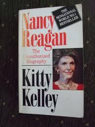 Nancy Reagan Signature Nancy Reagan The Unauthorized Biography Kitty Kelley