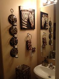 Cheetah Print Bathroom Set by Safari Bathroom Safari Bathroom Pinterest Safari Bathroom