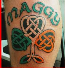 16 best shamrock tattoos images on pinterest irish celtic