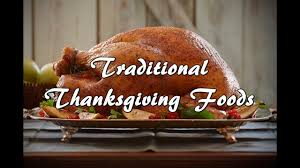 what are traditional thanksgiving foods