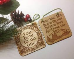 lotr ornament etsy