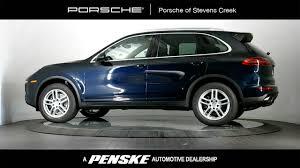 Used Porsche Cayenne - 2016 used porsche cayenne awd 4dr at porsche of stevens creek
