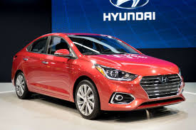hyundai compact cars 2018 hyundai accent first impressions news cars com
