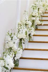 Banister Decor 20 Best Staircases Wedding Decoration Ideas Deer Pearl Flowers