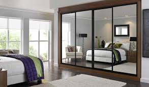 Mirror Doors For Closet Closet Doors Sliding With Mirror Design Ideas Decors Ideal