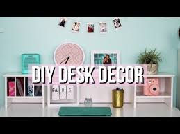 how to decorate a desk how to decorate your desk diy tumblr decor youtube