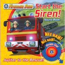 fireman sam start siren emergency sound book bill boo