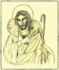 spiritual health and living my drawings of jesus