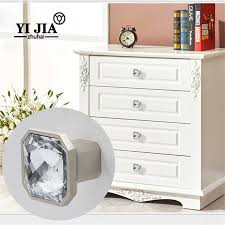 clear round glass drawer pulls and knobs yijia crystal