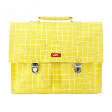 bakker made with love cartable cartable kotak yellow jaune fluo bakker made with love pour