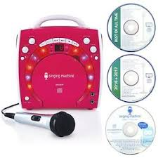 singing machine with disco lights handy singing machine disco light effect portable plug n play