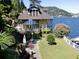 como luxury villa front lake with boathouse lake como tre