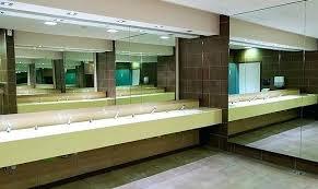commercial bathroom ideas commercial mirrors for bathrooms juracka info