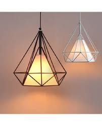 Ceiling Pendant Lights Iron Diamond Pendant Lights Birdcage Ceiling Pendant Lamps Home