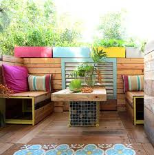 Bench For Balcony 26 Awesome Outside Seating Ideas You Can Make With Recycled Items