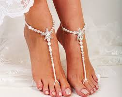 barefoot sandals for wedding wedding barefoot sandals etsy