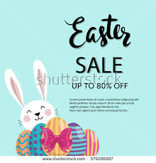 easter eggs sale typographic easter sale poster flyer design stock vector 579296887