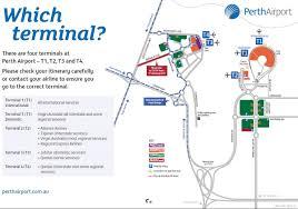 Airport Map Perth Airport Map Terminal 2 Map Of Perth Airport Terminal 2