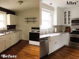 small kitchen remodel before and after outofhome