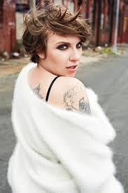 pixie cut plus size lena dunham opens up about her body confidence in exclusive interview