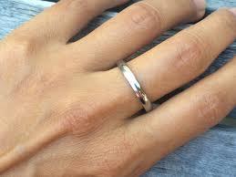 hudson wedding band 3mm titanium wedding band hudson jewelry chesele llc
