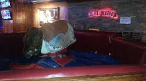 cadillac ranch in national harbor mechanical bull looks like picture of cadillac ranch