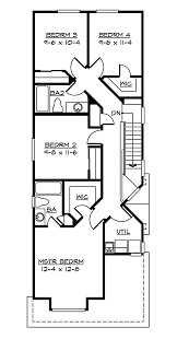 house small house plans for narrow lots