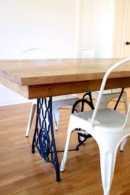 Singer Sewing Machine Desk Our Diy Dining Table From An Old Sewing Machine All Sorts Of