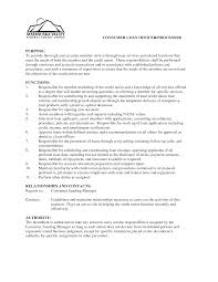 Resume Loan Officer Credit Officer Cover Letter Cause Effect Essay Sample