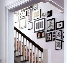 Home Stairs Decoration Hallways And Stairs Decorating Suggestions Using Empty Space In